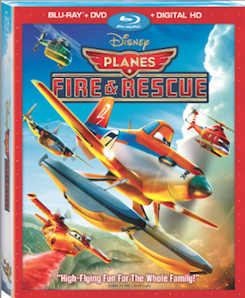 Blu-ray Review - Planes: Fire & Rescue