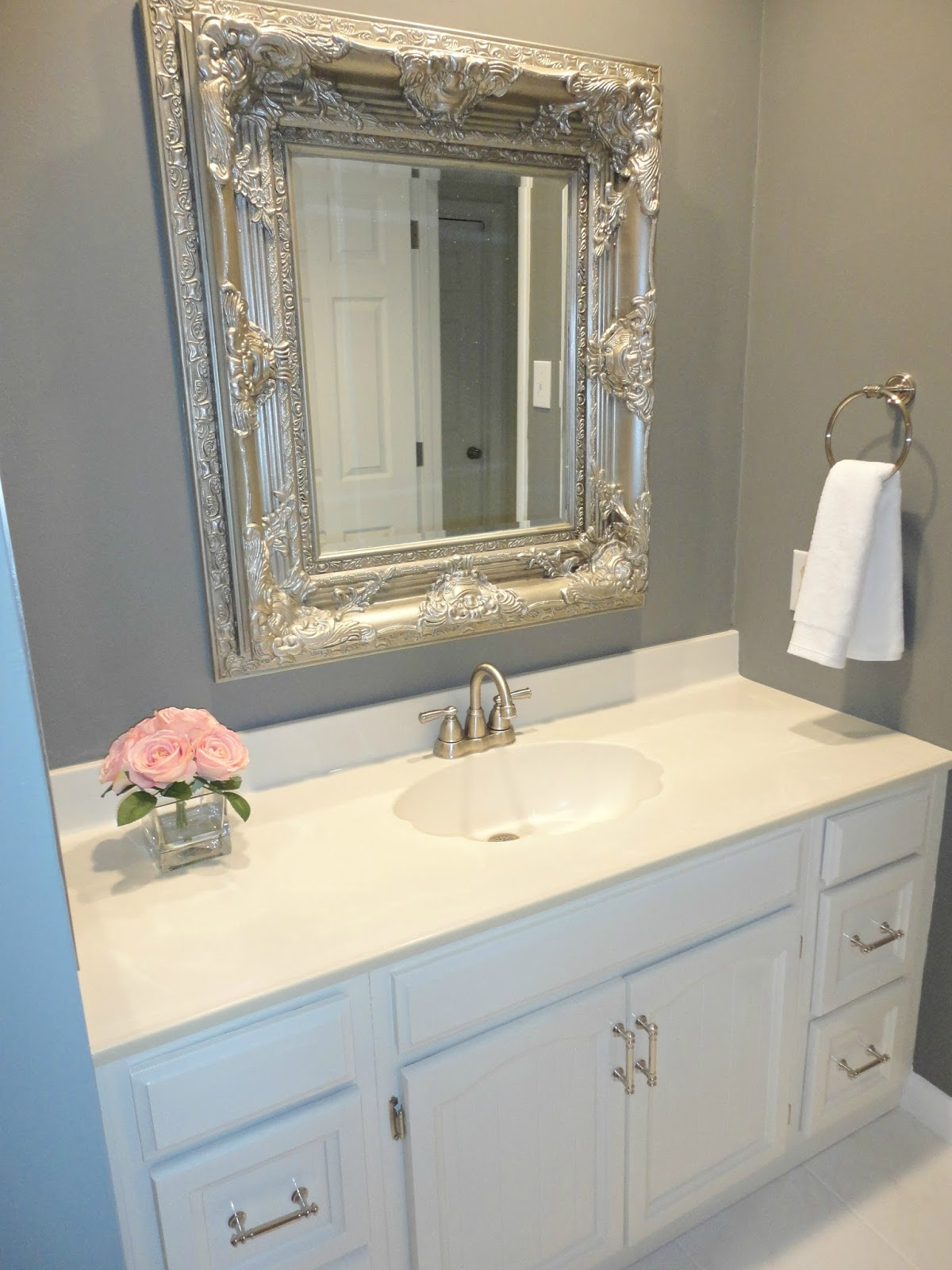 Lovely DIY Bathroom Remodel on a Budget