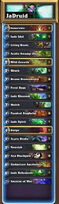 Jade Druid: Hearthstone Decklist Guide 1