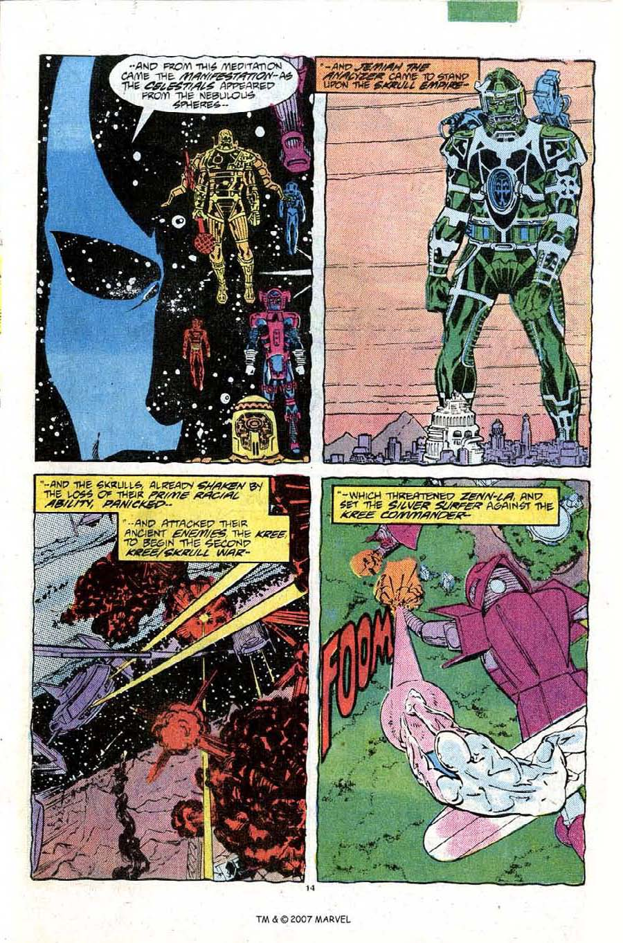 Read online Silver Surfer (1987) comic -  Issue #10 - 21