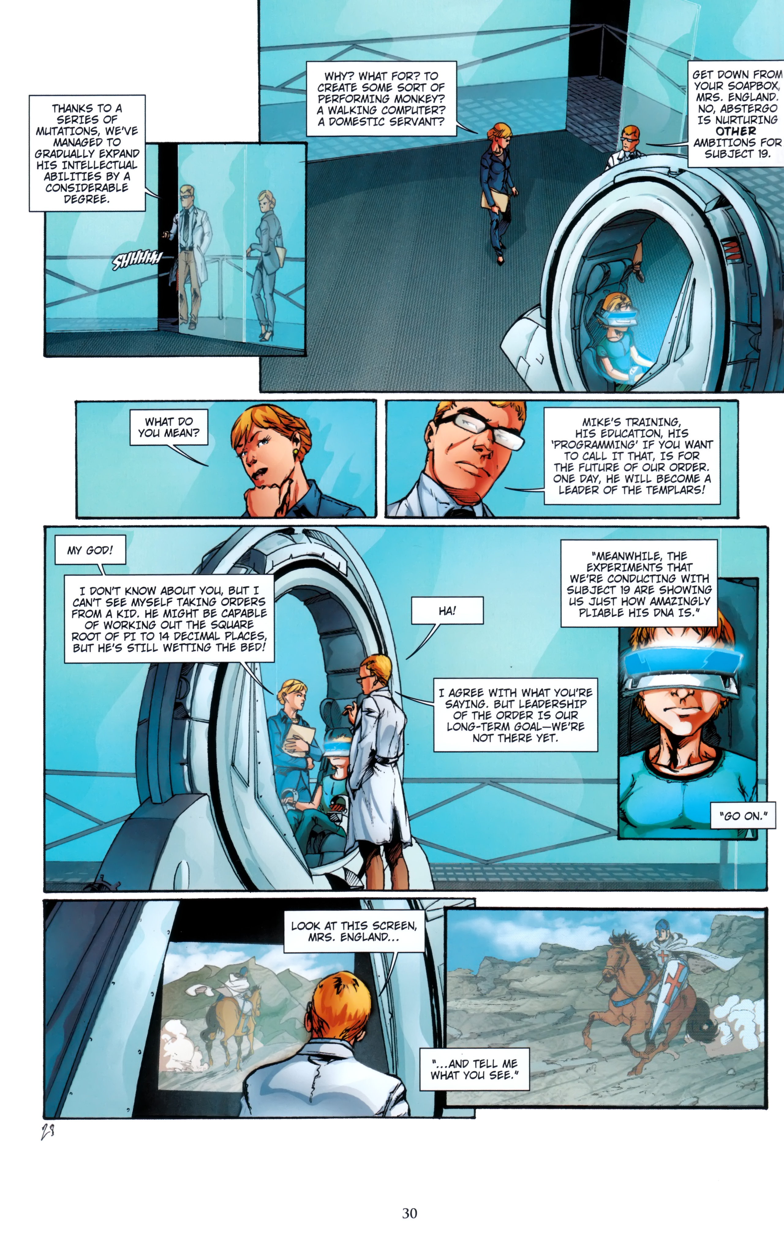 Read online Assassin's Creed (2012) comic -  Issue #5 - 30