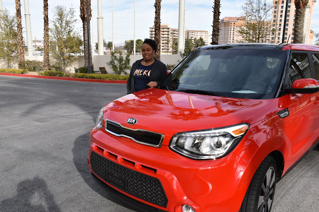 Rollin' in Vegas in the 2015 KIA Soul  via  www.productreviewmom.com