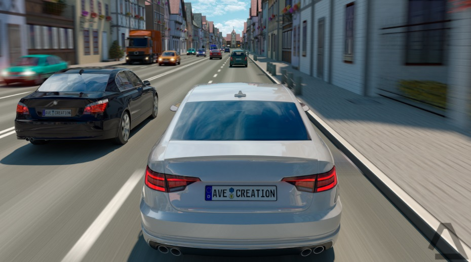 Driving Zone Germany APK Street