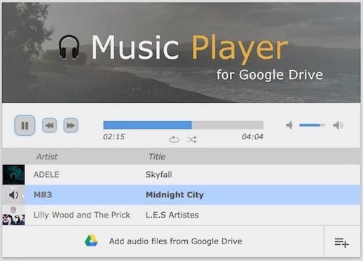 Google Drive Player