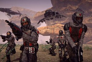 PlanetSide 2 free to play MMO FPS PC game