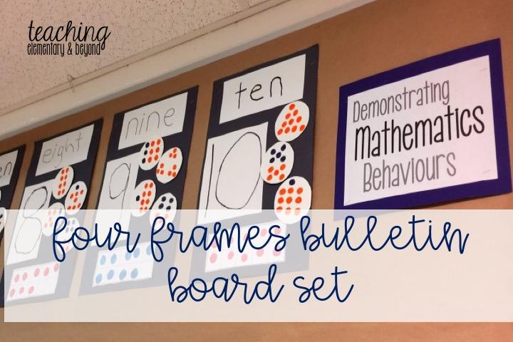 Four Frames Bulletin Board Set - teaching elementary & beyond