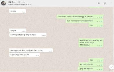 Tukang Taman Surabaya Lantai Carport krian sidoarjo
