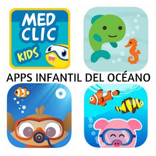 Apps infantiles para jugar sobre el océano