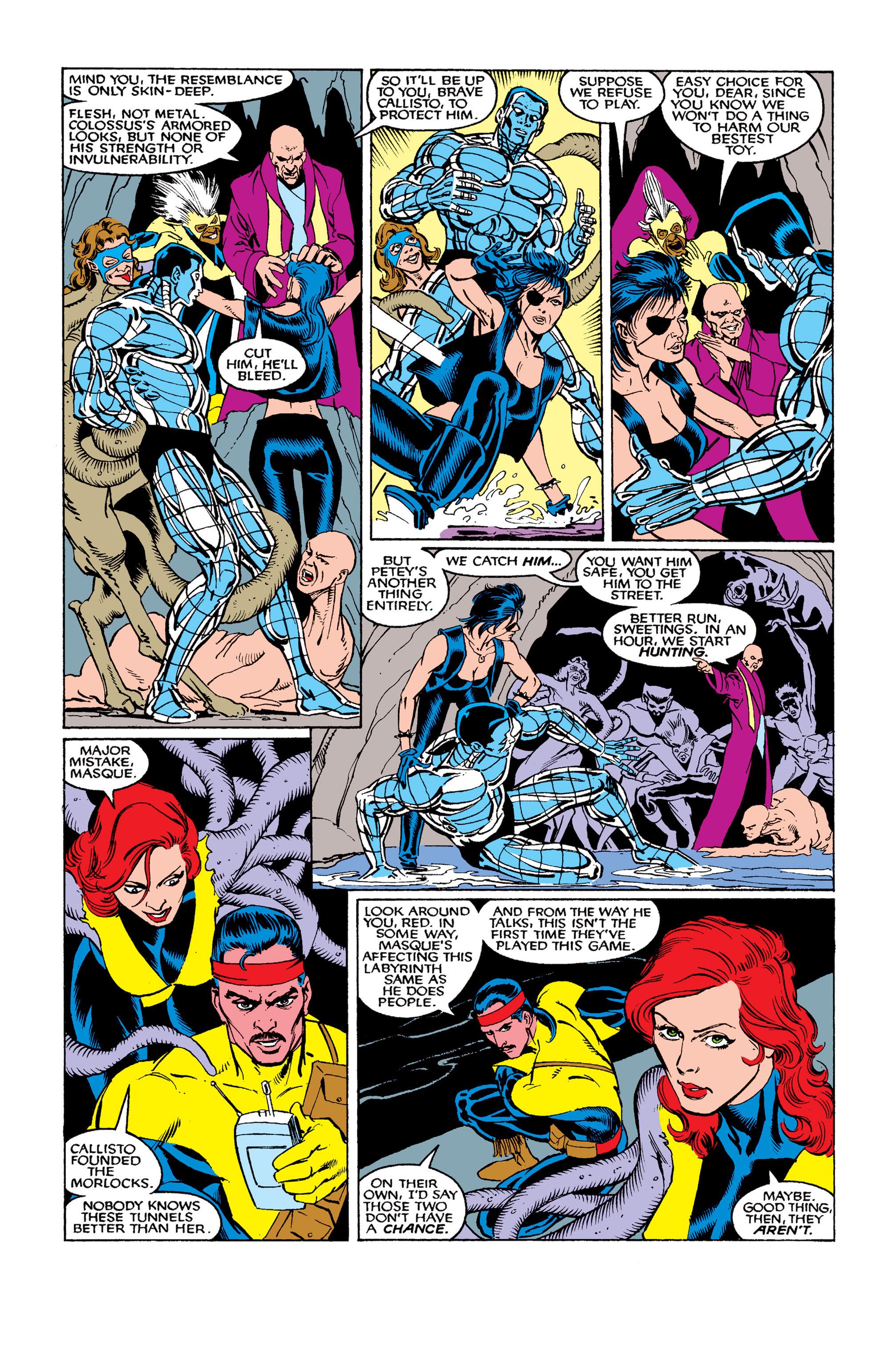 Read online Uncanny X-Men (1963) comic -  Issue #263 - 10