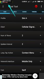 Cara tampilkan suhu baterai pada status bar smartphone
