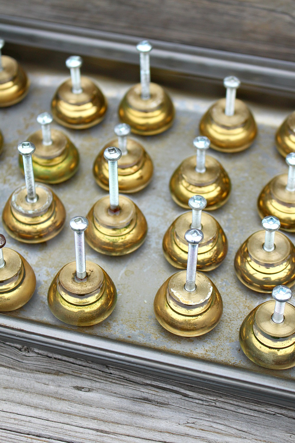 How to Age Brass Knobs