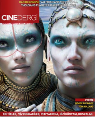 Cinedergi 105. Sayı (Temmuz - Ağustos) - Valerian and the City of a Thousand Planets