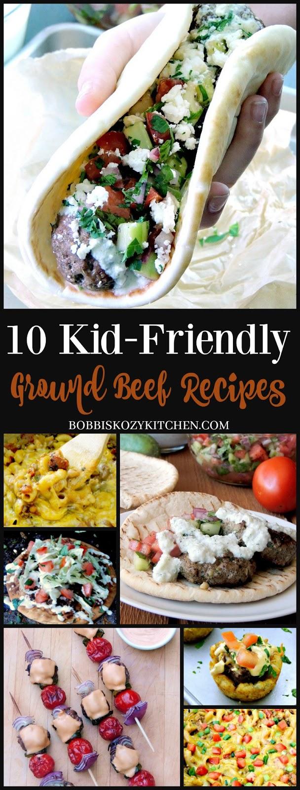 10 Easy to Make Kid-Friendly Ground Beef Recipes | Bobbi's ...
