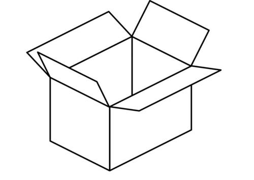 Dibujo De Una Caja De Leche Para Colorear