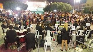 Encontro de Filarmônicas é realizado com sucesso em Baraúna