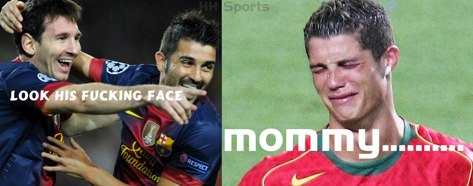 Zone Troll Messi Vs Ronaldo Boys Hair Cuts 2013