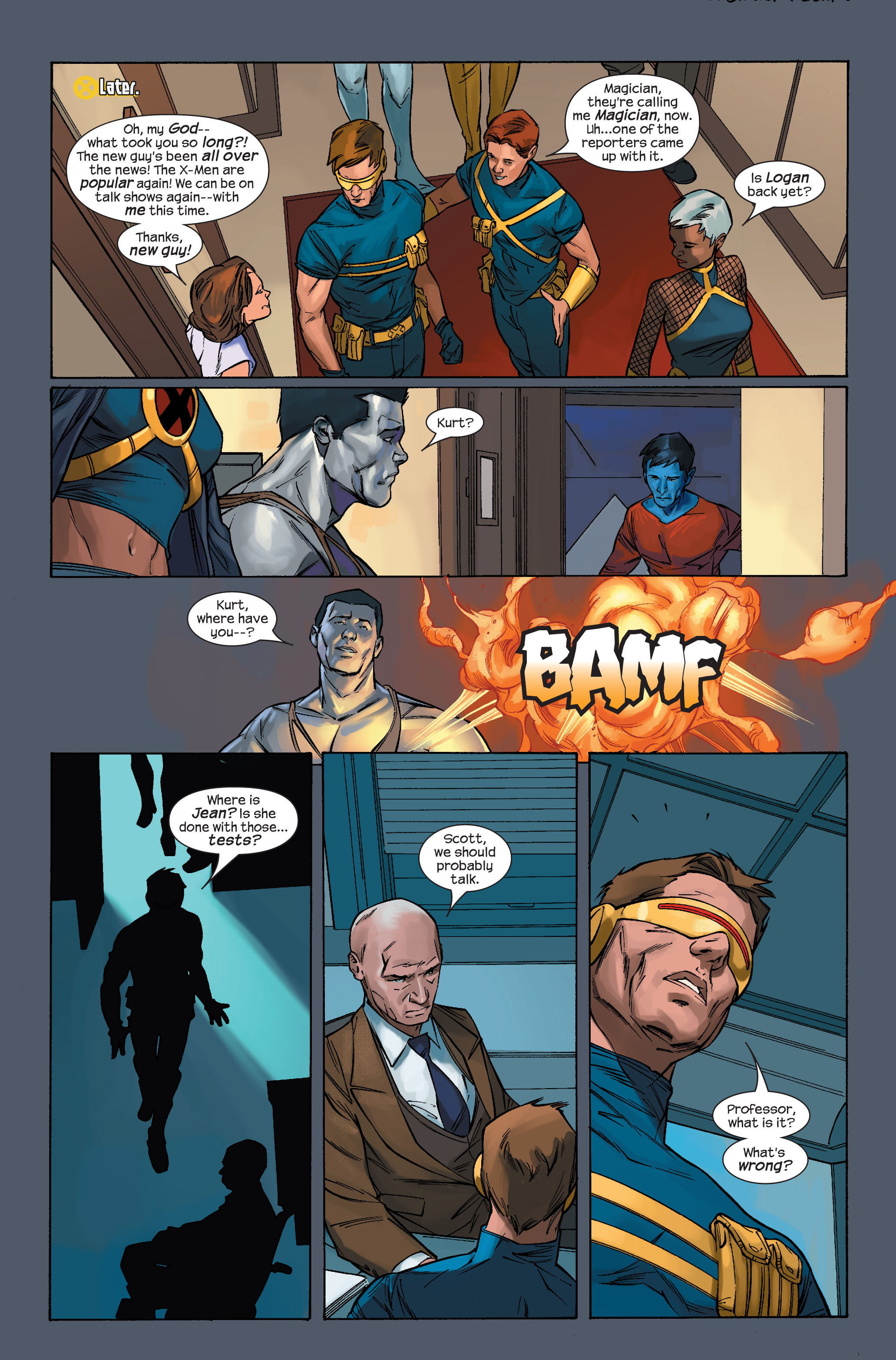 Read online Ultimate X-Men comic -  Issue #71 - 20