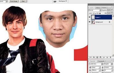 Cara Edit Foto Ganti Wajah Dengan Photoshop Gampang Dan Cepat