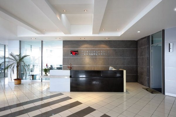 front office counter design