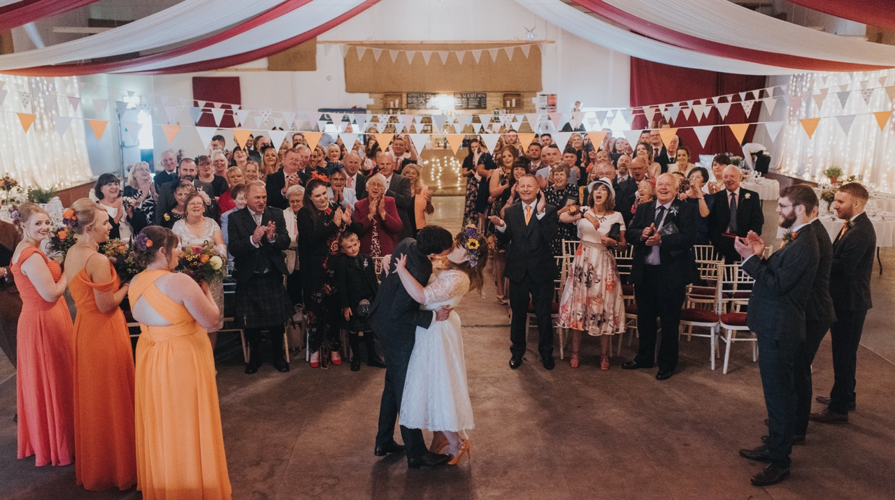humanist weddings in scotland kirsty and dean\u0027s humanist wedding atthe strawberry barn is exactly what it says on the tin it\u0027s a big empty space, just perfect for a party, but it\u0027s a lot darker than these photographs