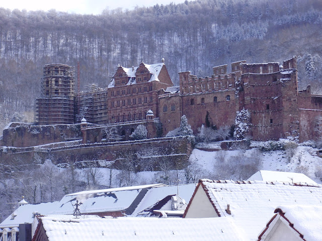 Winter time at Heidelberg Castle