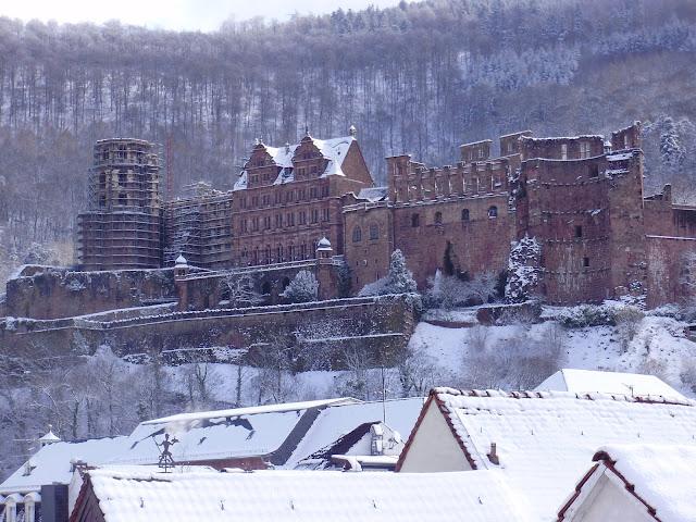 Winter time at Heidelberg Castle