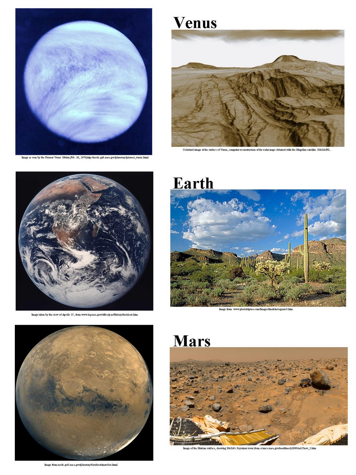 mars and planet venus atmosphere - photo #6