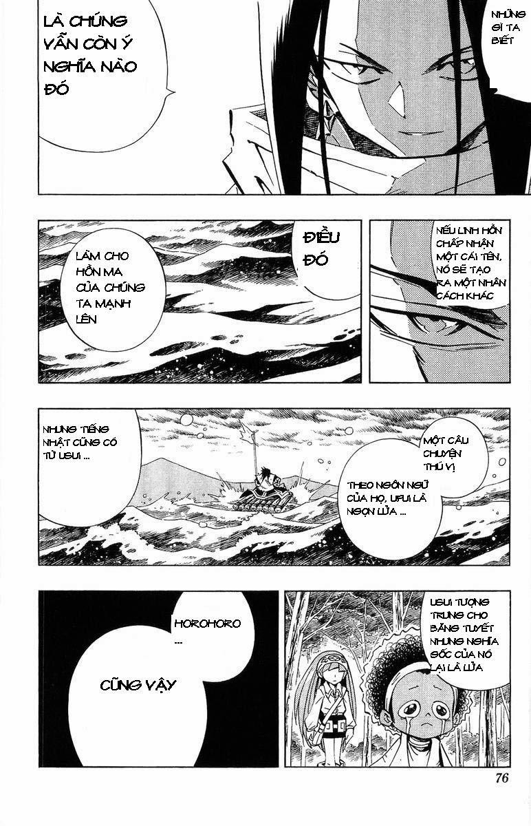 Shaman King [Vua pháp thuật] chap 228 trang 7