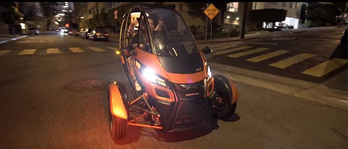 Marshmello - Keep It MelloのPVに登場する電気自動車はArcimoto SRK