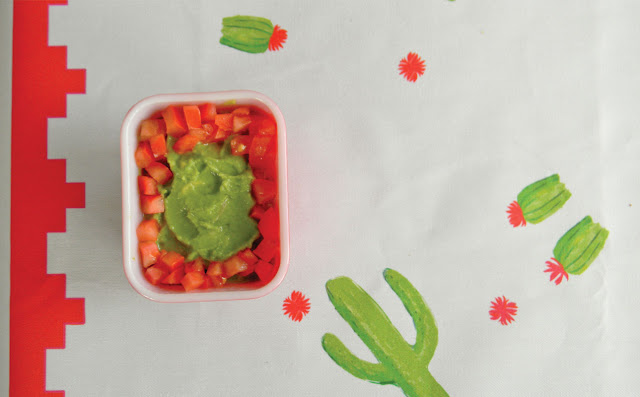Southwest, Aztec, Cactus, Table, Party, Fun, Retro, Vintage, Guacamole