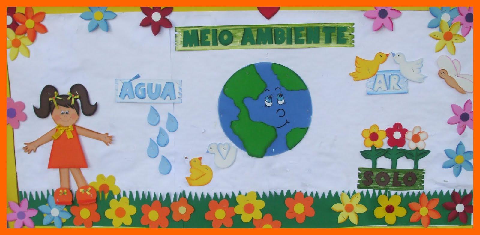 30 Ideias De Murais Para O Dia Do Meio Ambiente Só Escola