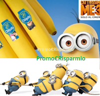 Logo Chiquita Cattivissimo Me3: gioca con i Minions e vinci