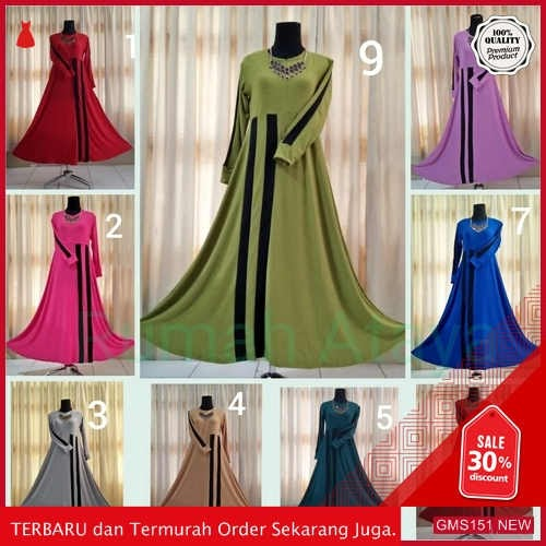 GMS151 RMTY151G199 Gamis Sporty Sp2 List Hitam Dropship SK1135975700