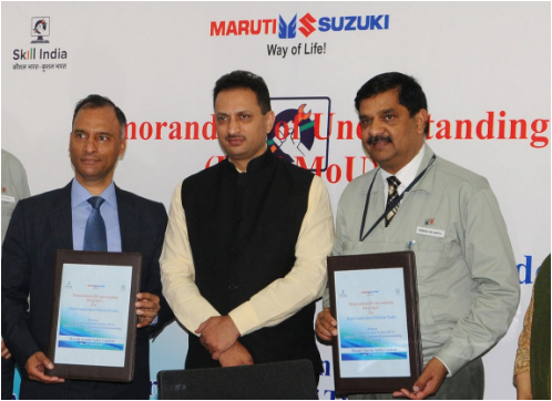 msd-and-maruti-suzuki-enter-into-an-agreement-employment-in-maruti-suzuki-paramnews
