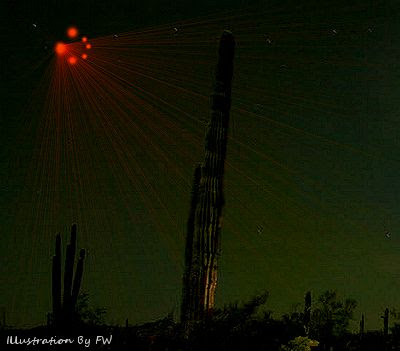 Former Ranger Recounts Multiple UFOs Over Reservation – The Day Before Phoenix Lights Mass Sightings