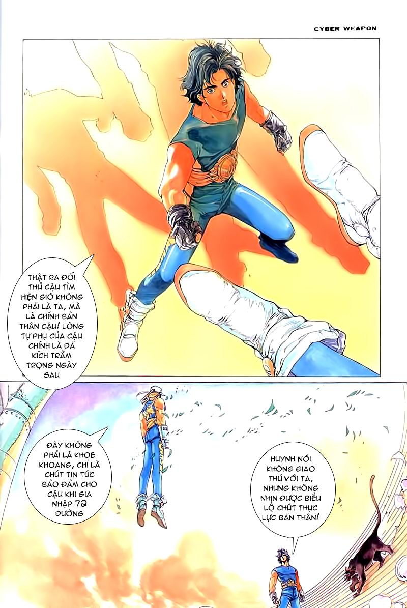 Cyber Weapon Z - Siêu Thần Z chap 2 - Trang 12
