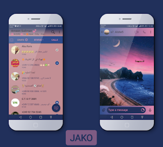 Natural Theme For YOWhatsApp & Fouad WhatsApp By Jako