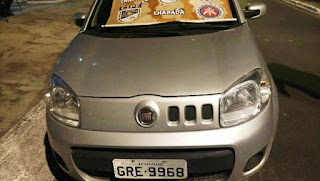 Carros roubados em SP e MG