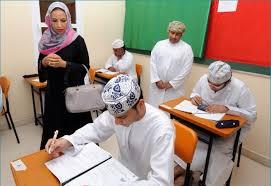 امتحان الرياضيات للصف الثامن سلطنة عمان الفصل الثاني الدور الاول 2017-2018 بالاجابة