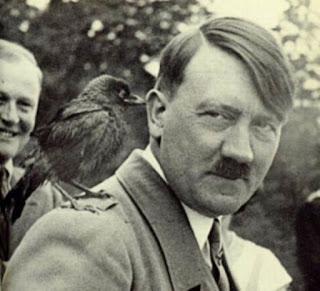 Adolf Hitler smiling worldwartwo.filminspector.com
