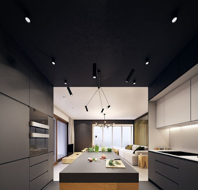 plafon dapur minimalis modern
