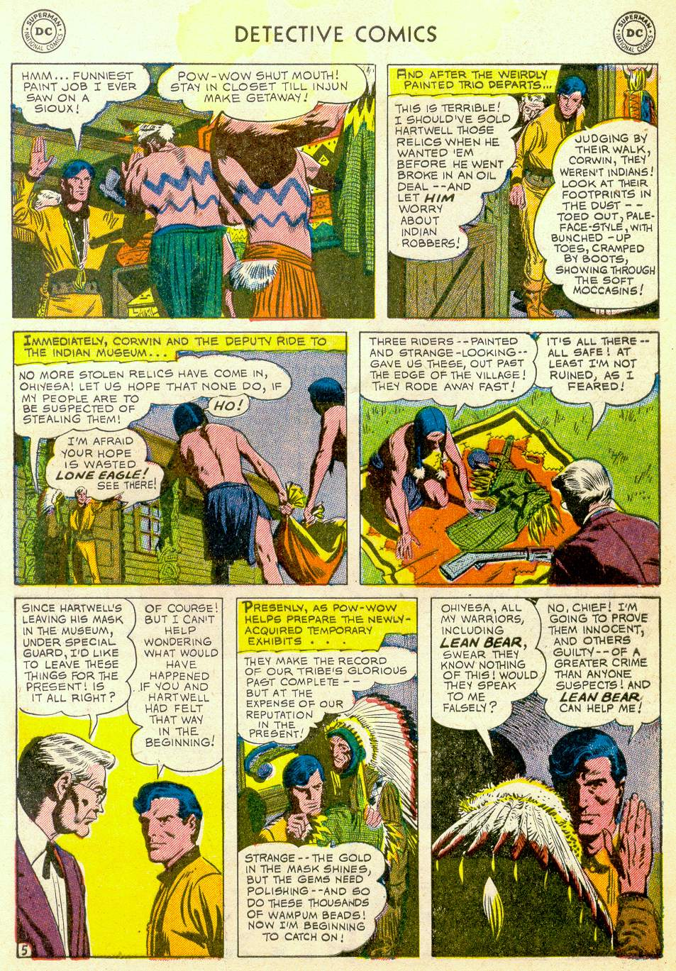 Read online Detective Comics (1937) comic -  Issue #184 - 39