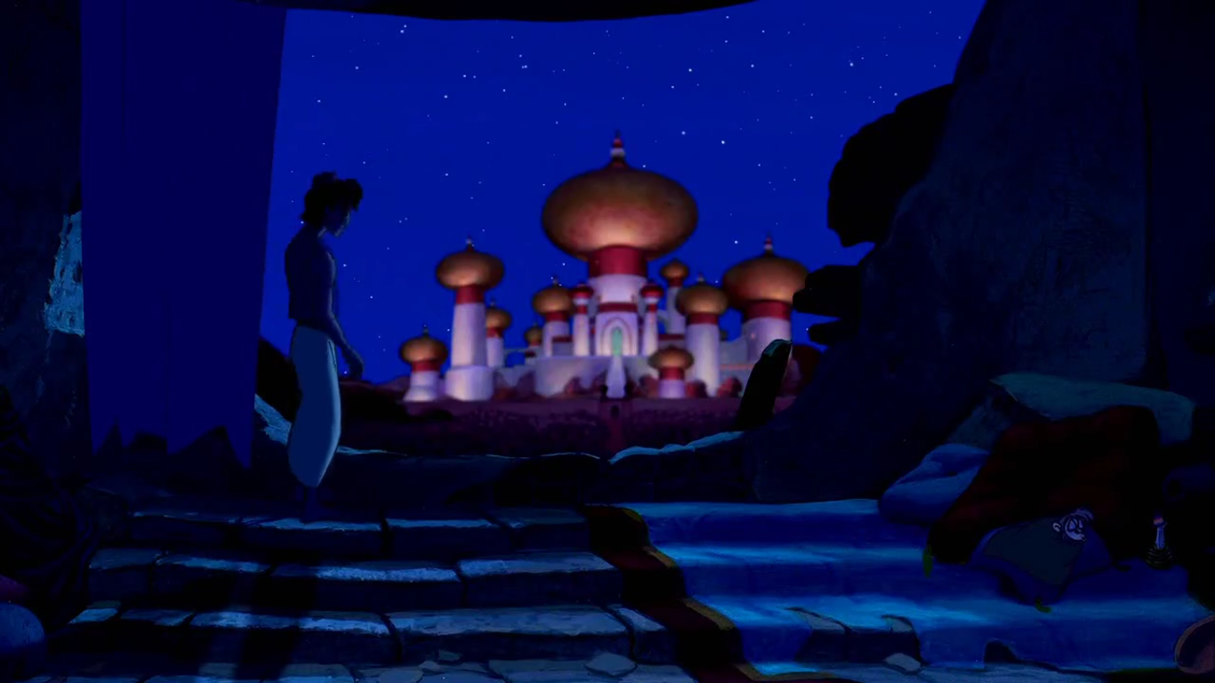 Aladdin With Big Dreams Of Owning A Palace Only Really Wants To Live Better Life Not Have Steal Food And Scratch Living