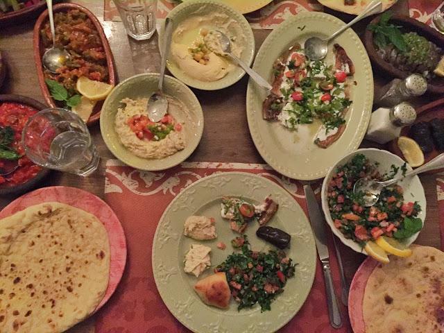 food vegetarian jordan indians mezze starters