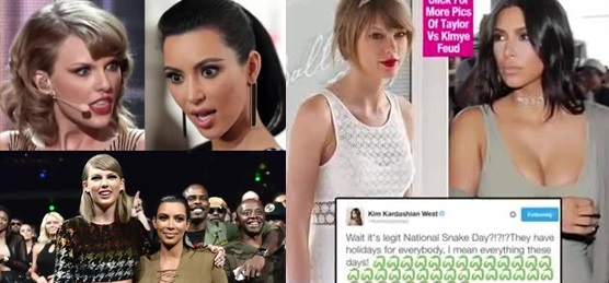 20 Celebs Who Don't Like Taylor Swift 14. Kim Kardashian