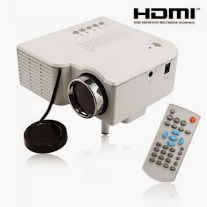 Mini Projector Uc28  (All in 1) 1,950 B