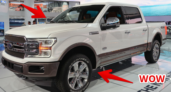 Detroid Auto Show 2017 :The 2018 Ford F-150