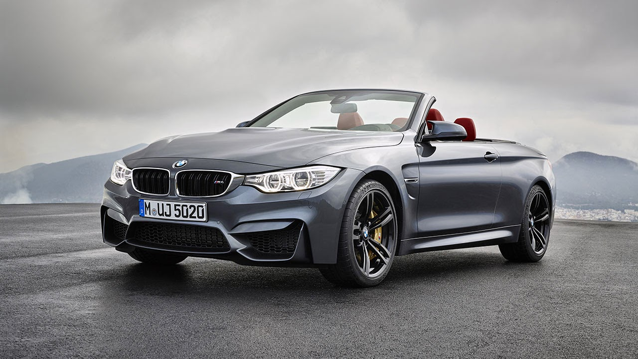 BMW M4 Convertible front side
