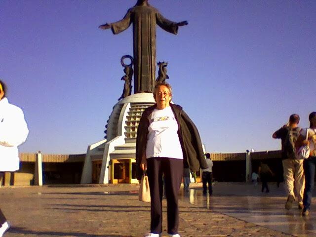 Día internacional de la mujer. Cristo Rey en el Cerro del Cubilete, Guanajuato.