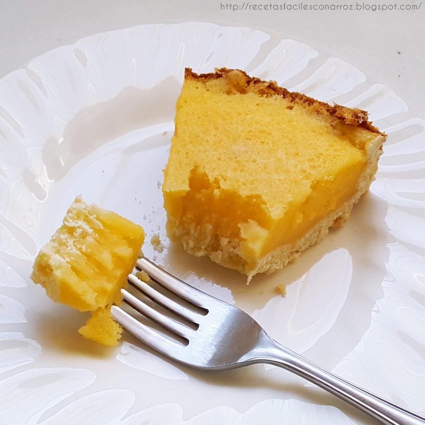 tarta de limon sin gluten